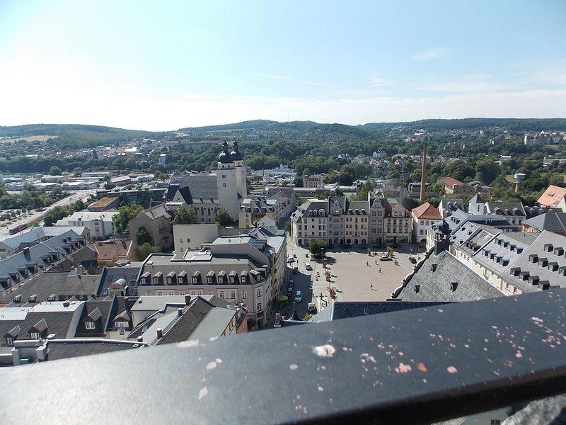 centro città di Plauen