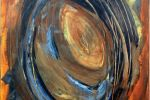 Versoi,50x70cm, acrilico su tela