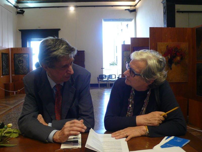 Al lavoro con Nevio Zanardi