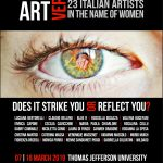 Art versus violence  – 23 artisti italiani in nome delle donne