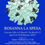 Personale di Rosanna La Spesa  –  Carcare Villa Barrili